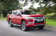 Mitsubishi L200 2019 first drive review - hero front