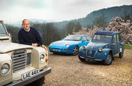 Andrew Frankel with car collection