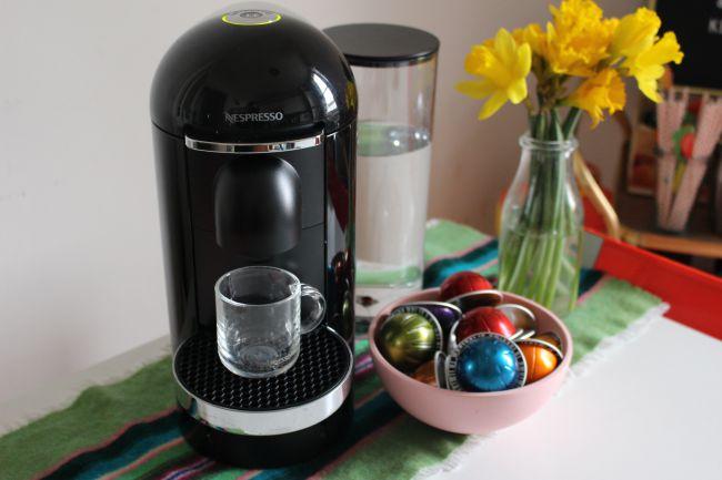 A photo of the Nespresso Vertuo Plus