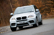 BMW X5 M 2009 - tracking front