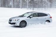 Subaru Impreza e-Boxer side drift