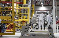 Aston Martin St Athan production line
