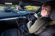 Matt Saunders driving