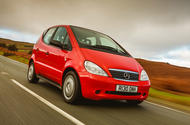 Mercedes A-Class - tracking front