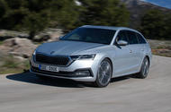 Skoda Octavia estate 2020 first drive review - hero front